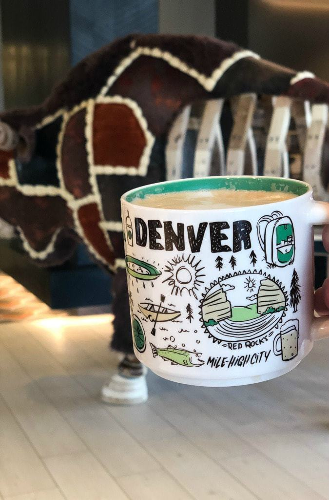 denver mug from starbucks