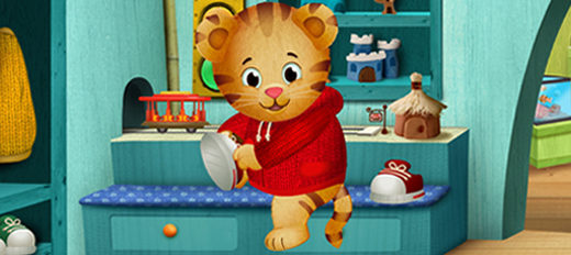 Cover image for PBS Kids' program Daniel Tiger in Spanish.