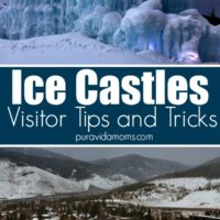 tips on visitors, seeing ice castles.