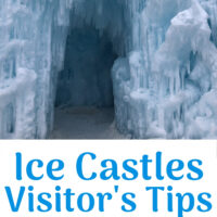 Ice Castles Visitor's Tips pinterest image