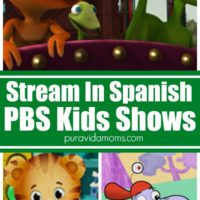 PBS Kids shows that you can watch and stream in Spanish.
