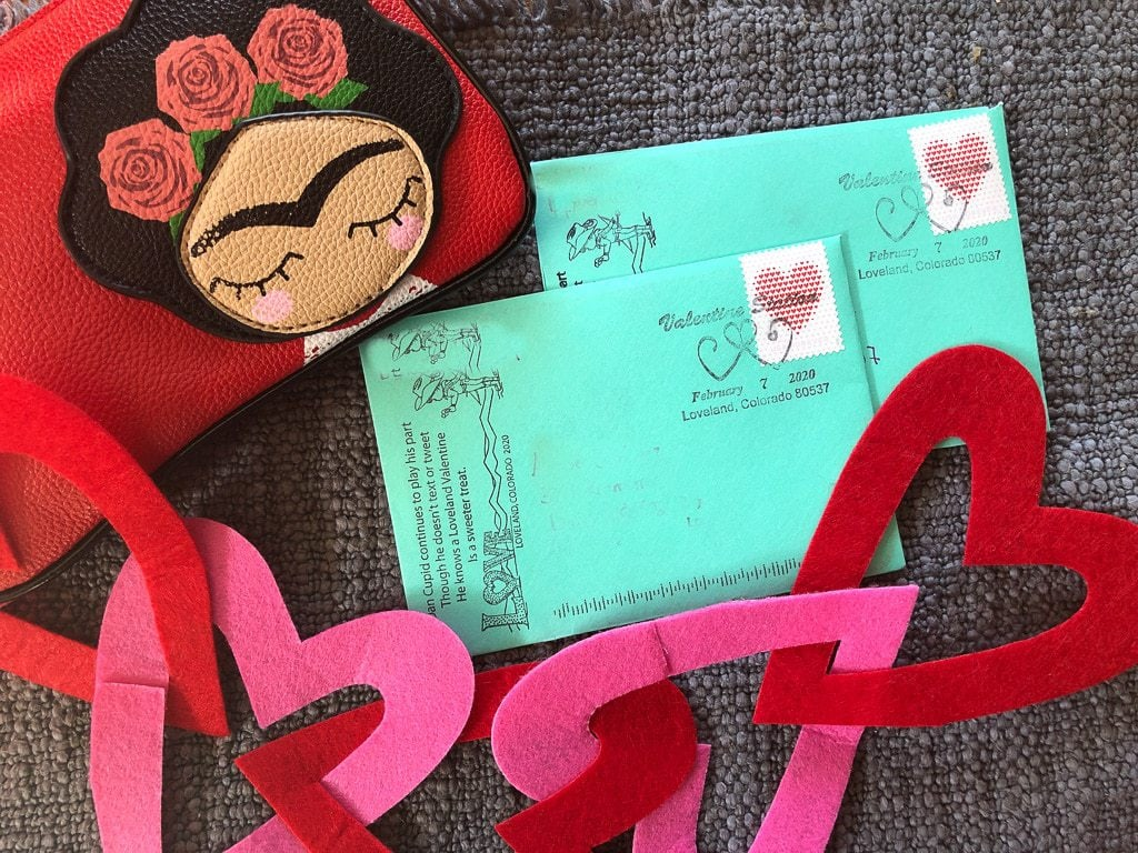 personalized valentines fro loveland colorado