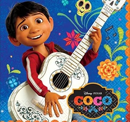 Cartoon image of Miguel from Disney's Coco movie.