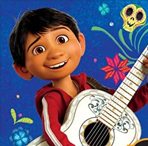 Cartoon image of Miguel from Disney's Coco movie.