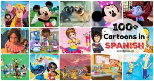 A collage of Spanish cartoons.