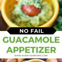 Guacamole Dip Recipe pinterest image
