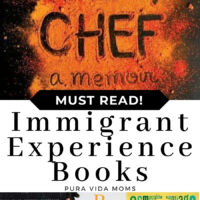 A title cover talking about 12 immigrant experiences.