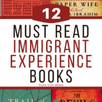 A title page with the title 'Must Read Immigrant Experience Books' in caps.