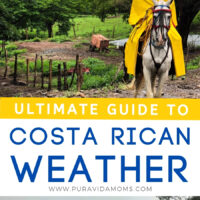 Costa Rican Weather Guide pinterest