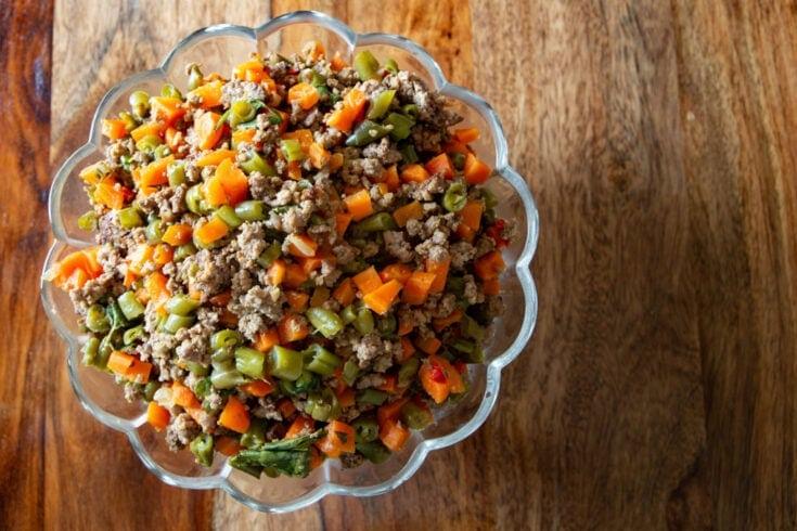 Carrot and Green Bean Picadillo Recipe