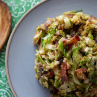 thanksgiving brussels sprouts pinterest image