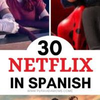 Netflix In Spanish pinterest image