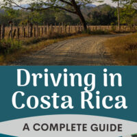 Driving In Costa Rica pinterest image