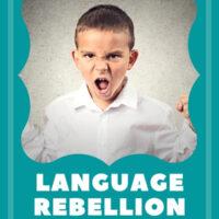 Language Rebellion Bilingual Kids pinterest image