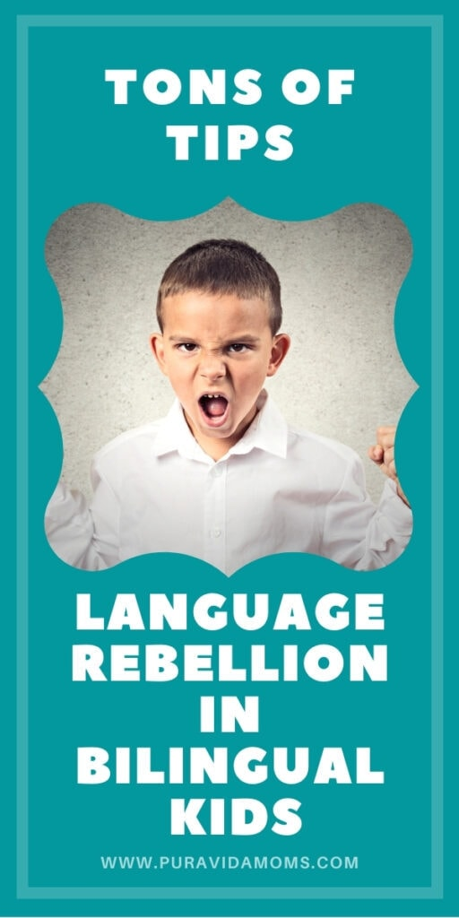 pinterest image for tips of language rebellion.