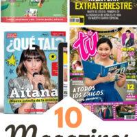 Spanish Magazines pin