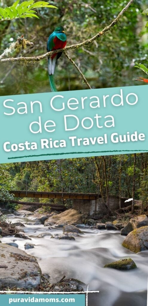 San Gerardo de Dota Costa Rica Travel Guide pin