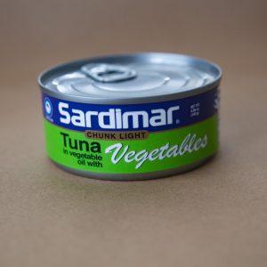 Sardimar atun con vegetales