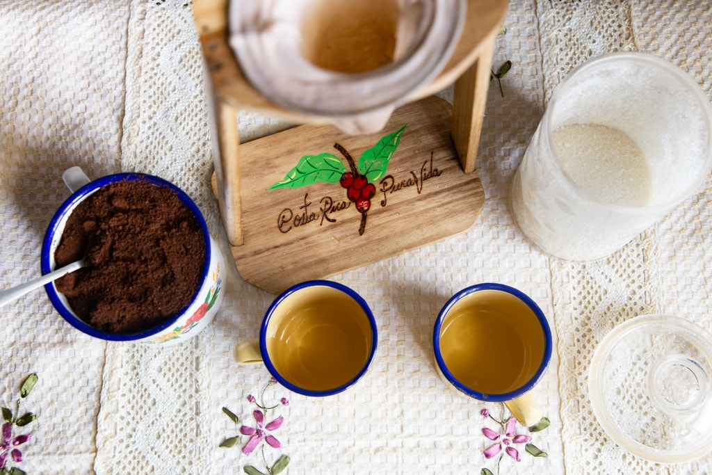 Costa Rican Coffee Ingredients