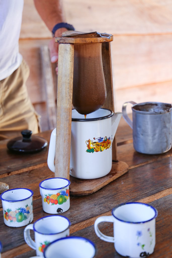 white cups with Costa Rican Coffee Recipe