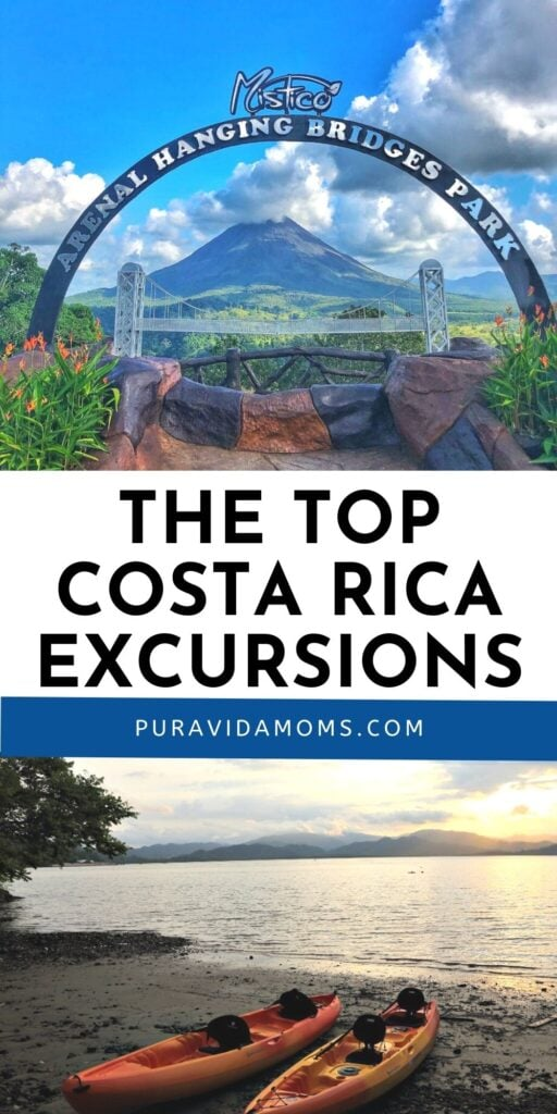Top Costa Rica Excursions pin image