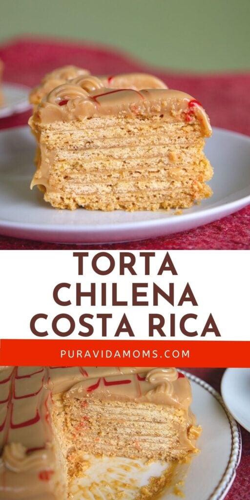 Torta Chilena Costa Rica pin