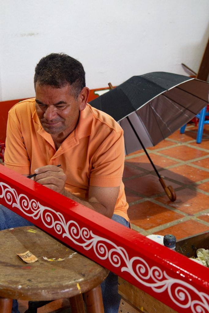 costa rican painter