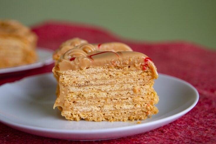 slice of Torta Chilena Costa Rica