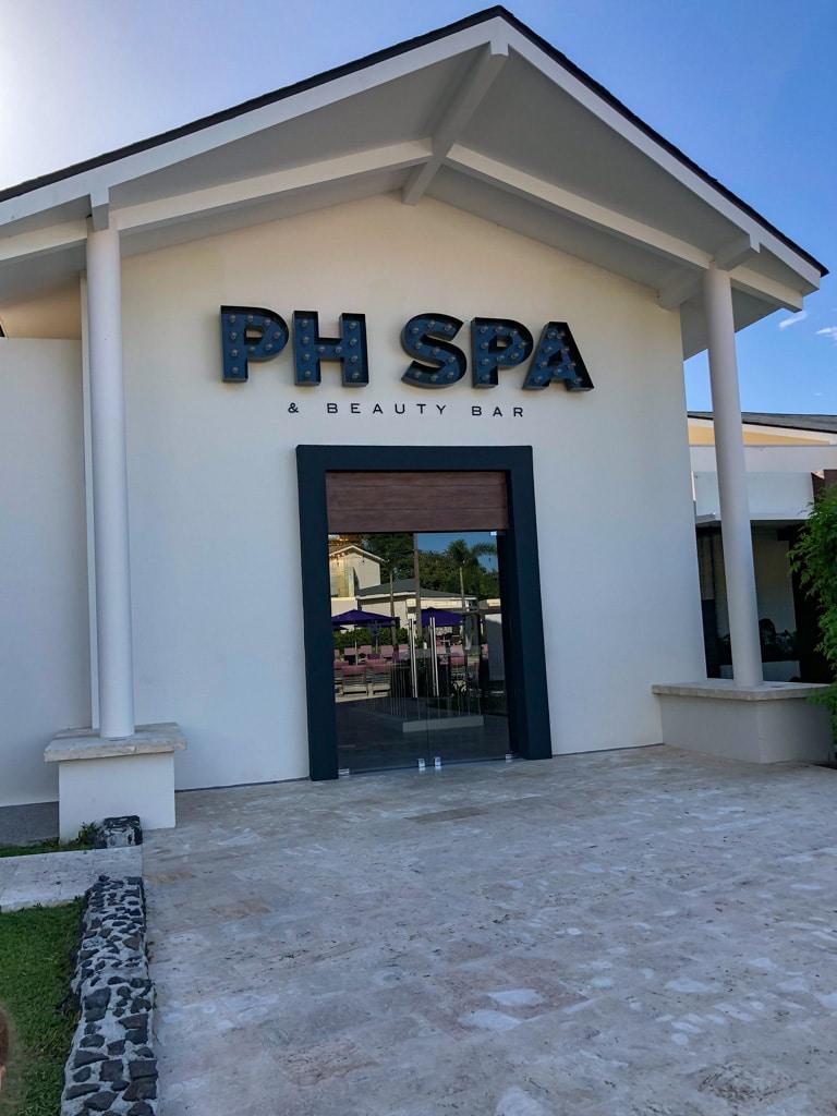 spa at the resort