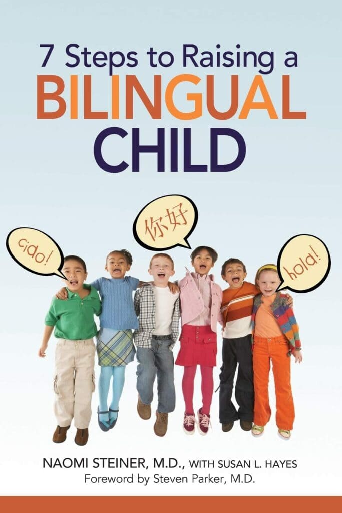 7 Steps to Raising a Bilingual Child book cover