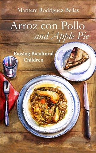 Arroz con pollo and apple pie book image