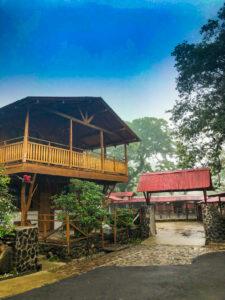 Entrance To Hacienda Guachipelin Costa Rica