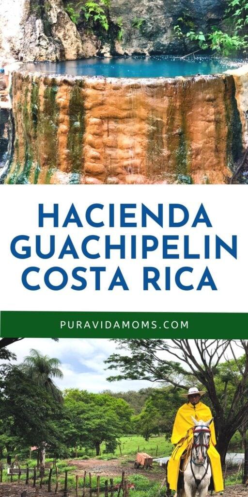 Hacienda Guachipelin Costa Rica pin