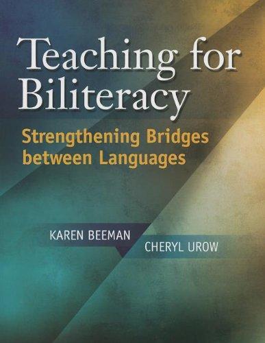 Teaching for Biliteracy: Strengthening Bridges between Languages book image